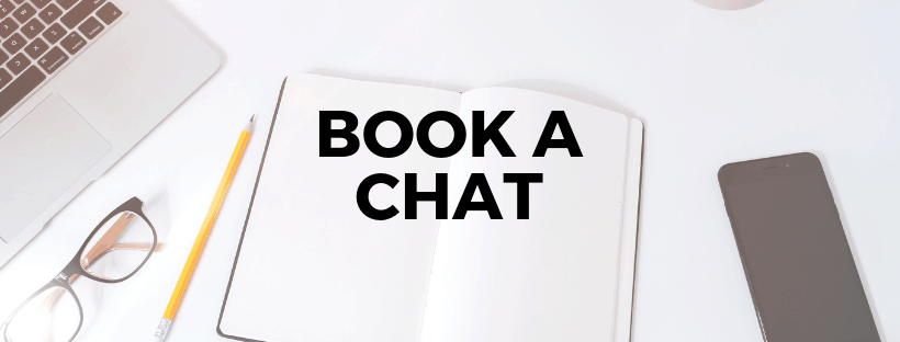 Book a chat graphic