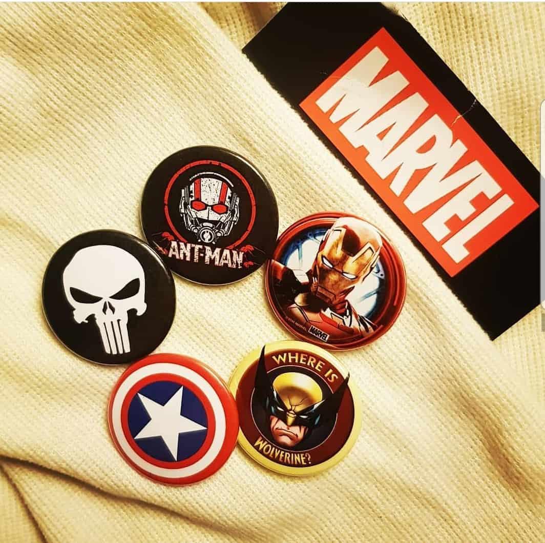 Marvel badges