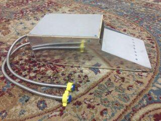 Foot-operated sink prototype in response to coronavirus in Iraq1